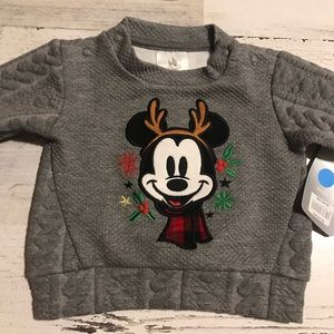 DISNEY BOYS SWEATER 3-6 MONTH MICKEY NWT